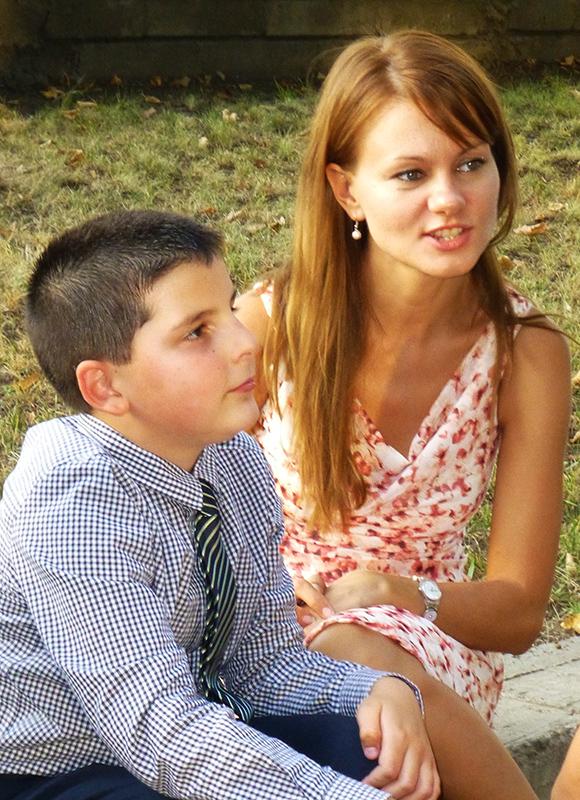 Иван Вълчев и Милена Каменова