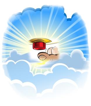 копче на небето