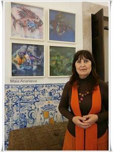 13 Специалната награда на 1-вия международен конкурс за живопис за професионални художници на тема Подводен свят