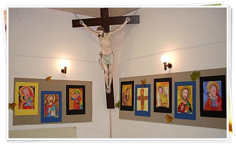9 Самостоятелна изложба на библейскя тема в Церкле на горенскем - словения - 2013г