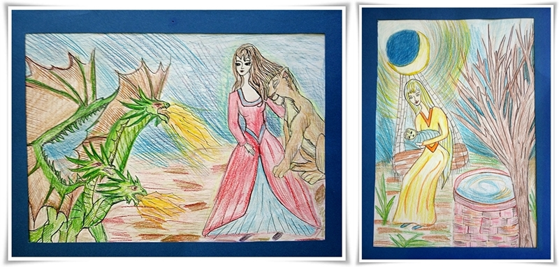 Цветомира - рисунки книга
