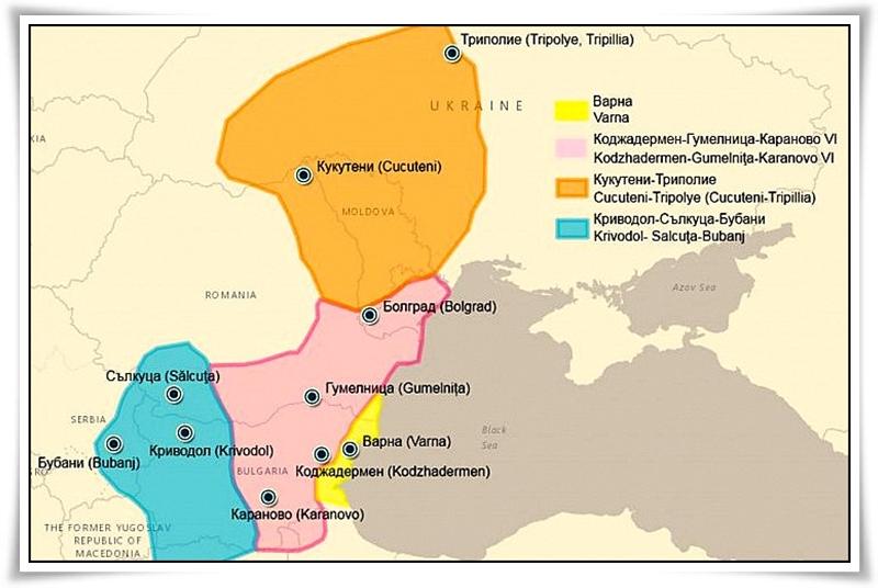 Древни култури по българските земи