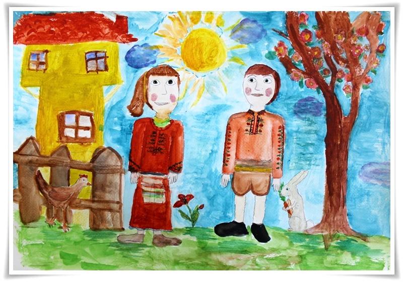 Мария Красимирова Славянова-10 години, 4 клас, Шумен