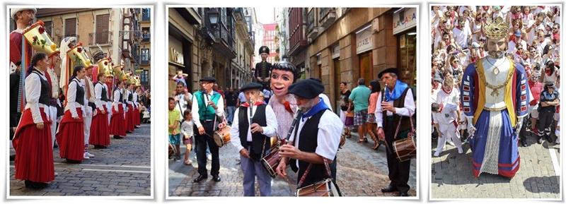 Танцьорки от Памплона, адм. център на Навара, св-horz