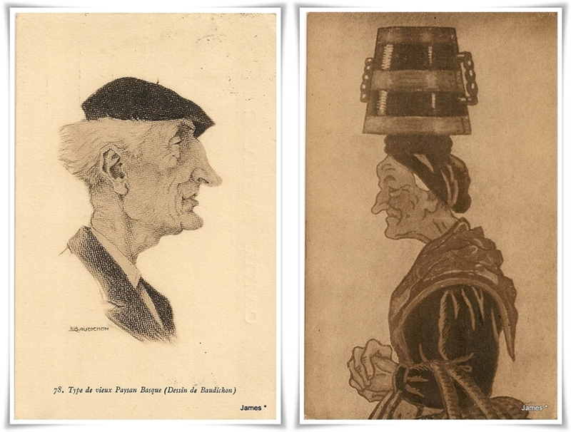 Тип на стария баски селянин (Рисунка от Бодишон)-horz