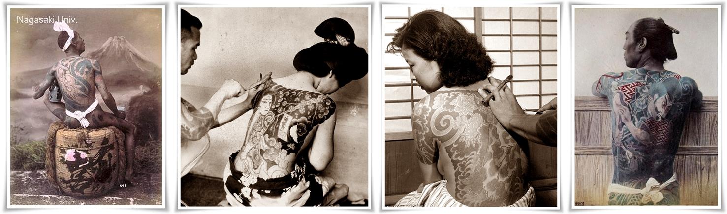 4 татуировки колаж