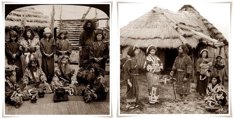 Ainu in Yezzo-horz