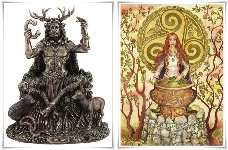 Celtic God Cernunnos-horz