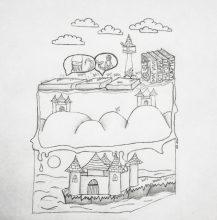 Mina-Илюстрация Миа Лазарова