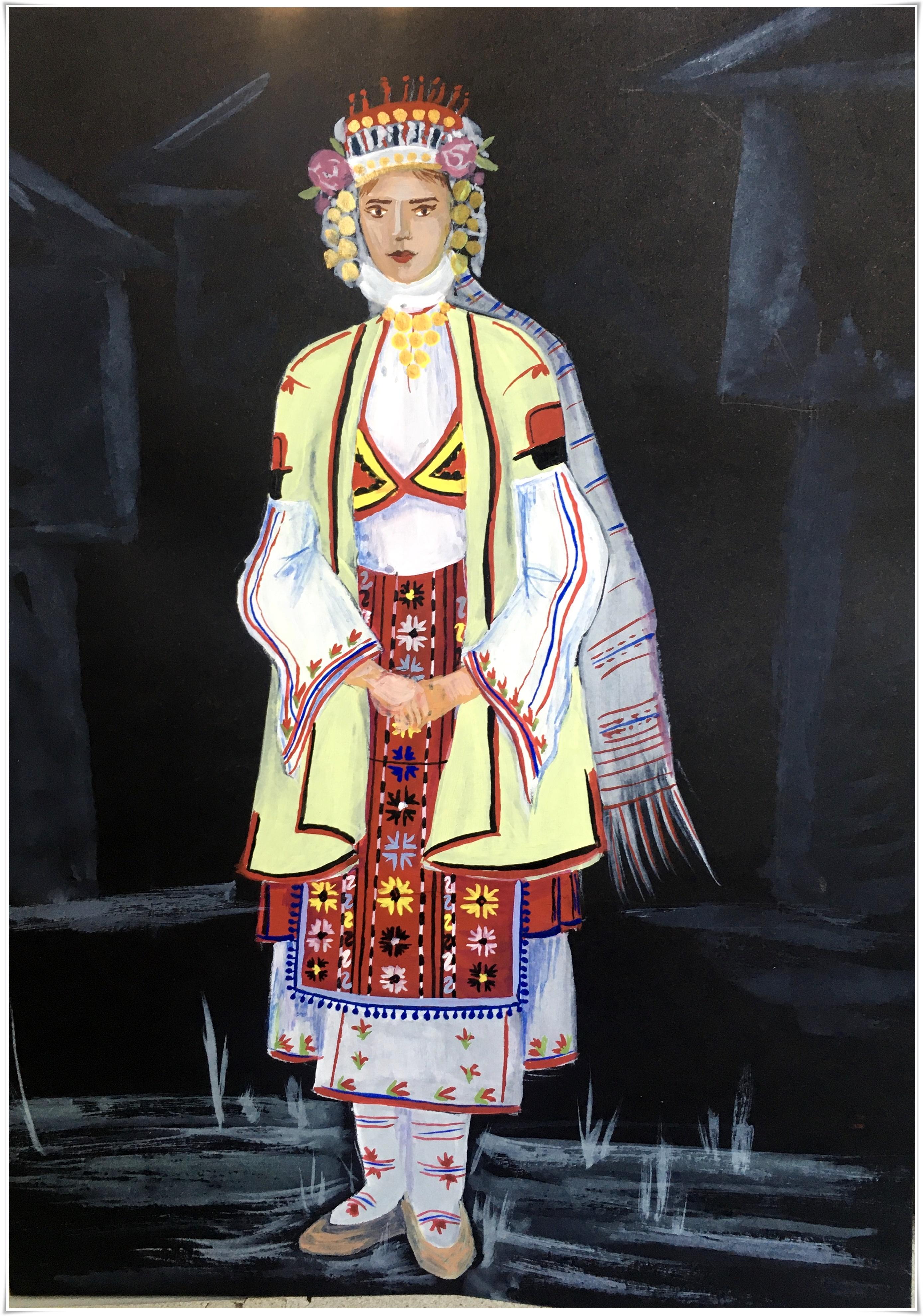 Анастасия Панчева, 17 г.