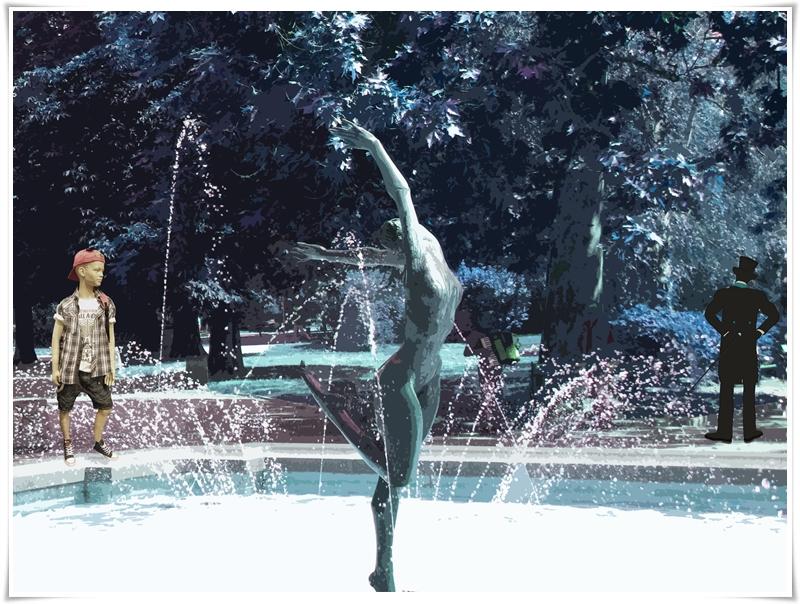 04 Балерина, момче, г-н с цилиндъра